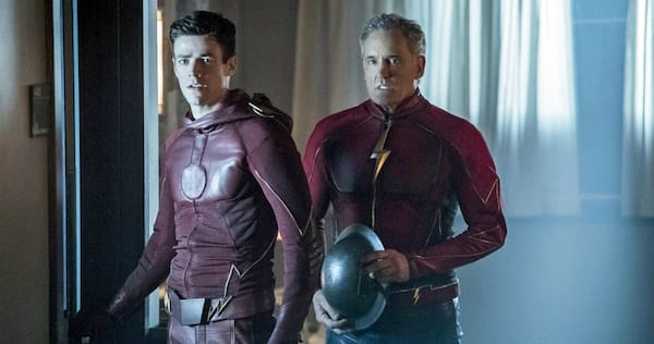 Barry and Jay from The Flash., wdc-slideshow, pop culture, movies/tv