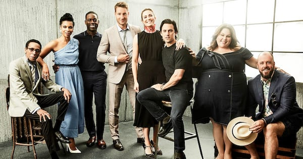 The cast of This Is Us., wdc-slideshow, pop culture, movies/tv