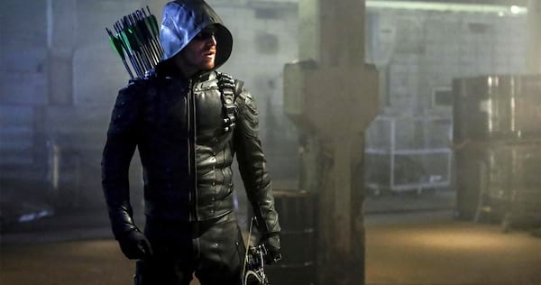 Green Arrow holding his bow in hand., wdc-slideshow, pop culture, movies/tv