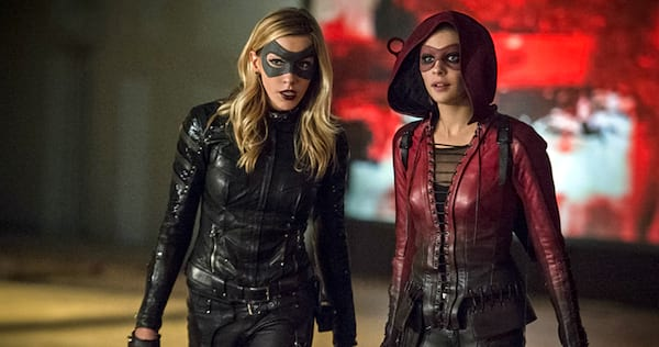 Laurel and Thea from Arrow in costume., wdc-slideshow, movies/tv, pop culture