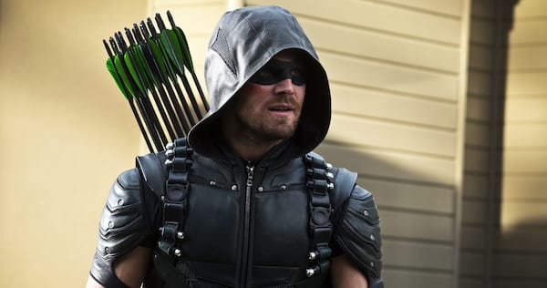 Green Arrow standing ready for action., wdc-slideshow, pop culture, movies/tv