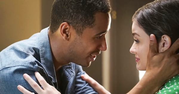 Stella and Wes from Life Sentence embracing., pop culture, movies/tv, wdc-slideshow