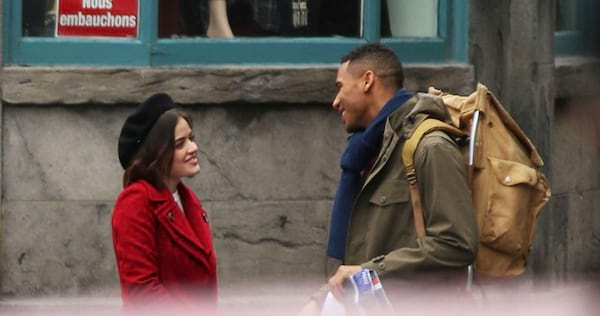 Stella and Wes from Life Sentence smiling at each other., wdc-slideshow, pop culture, movies/tv