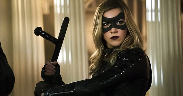 Arrow's Laurel as the Black Canary stands ready for battle., pop culture, movies/tv, wdc-slideshow