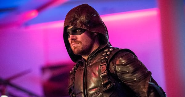 Arrow's Oliver Queen dressed as the Green Arrow., pop culture, movies/tv, wdc-slideshow