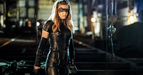 Arrow's Dinah Drake dressed as the Black Canary., wdc-slideshow, pop culture, movies/tv