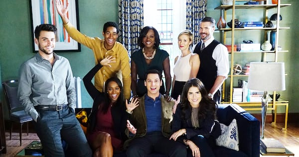 The cast of How To Get Away With Murder., pop culture, movies/tv, wdc-slideshow