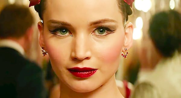 juju, jennifer lawrence, close up, face, smart, blond, history, culture, red sparrow