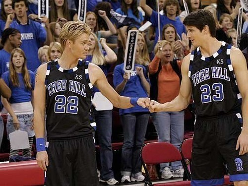 one tree hill, basketball