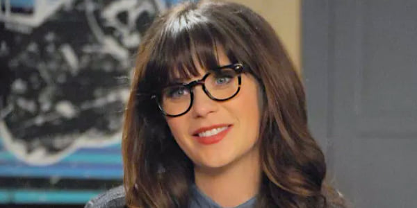 zooey deschanel, new girl, Nerdy, glasses, smart, genius, logic