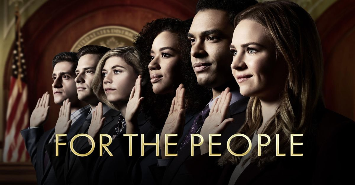 for the people season 1 episode 3, For The People