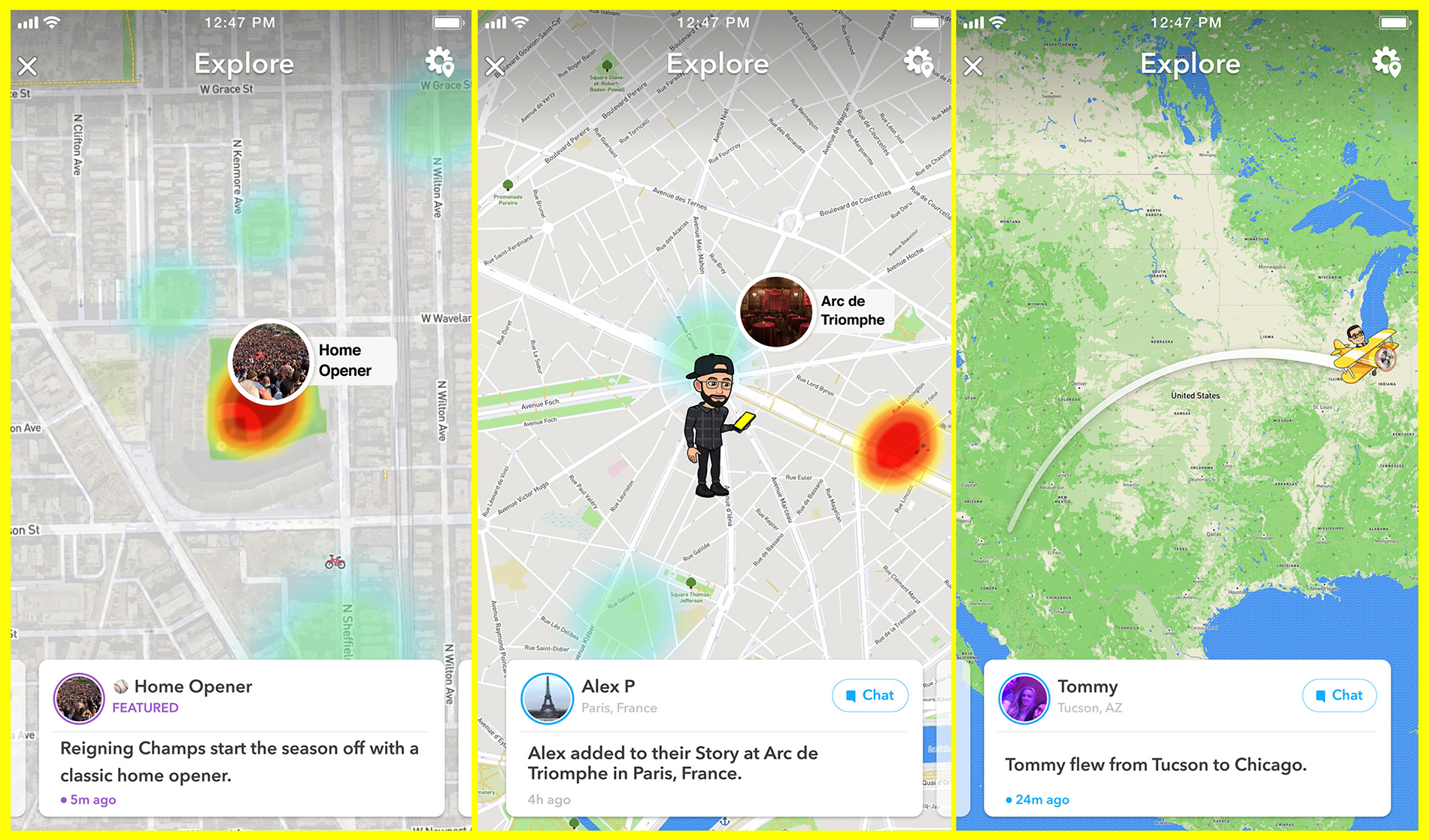 Snapchat Update, Snap Map Explore, Explore on Snapmap, 2018