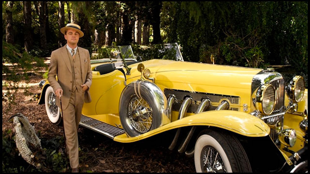movies/tv, The Great Gatsby, cars
