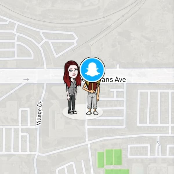 what do the emojis on snapchat map mean, Bitmoji, Snapchat map, ghost mode