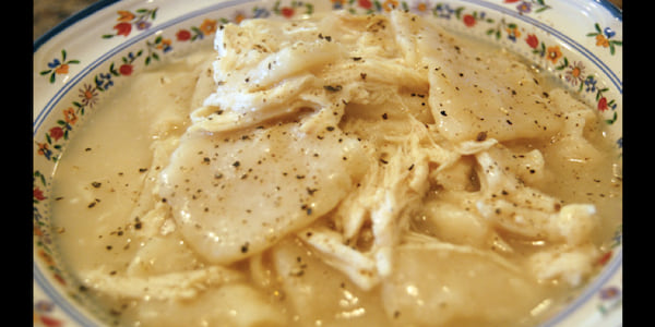 Chicken and Dumplings, Southern