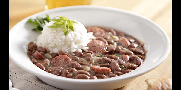 red beans and rice, Southern