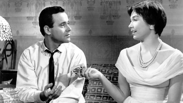 classic movies, the apartment, Shirley MacLaine, jack lemmon