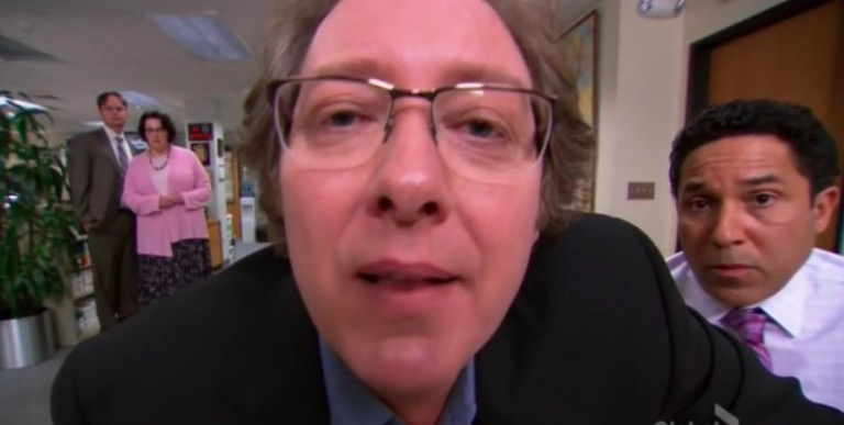 the office, the office characters quiz, office characters full name, robert california real name