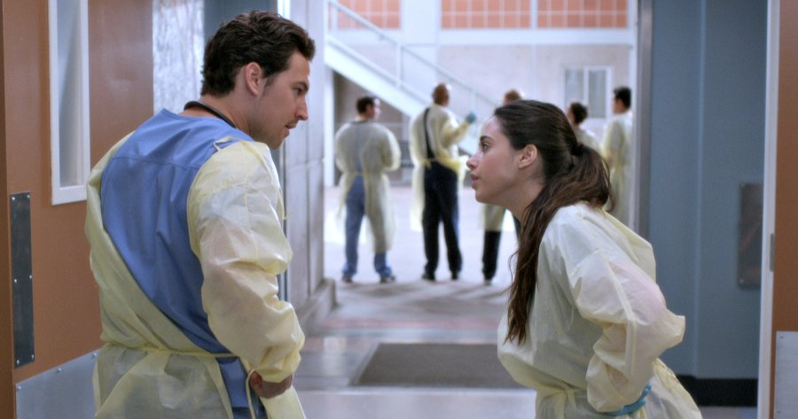 greys anatomy season 14 episode 20, greys anatomy, deluca, sam