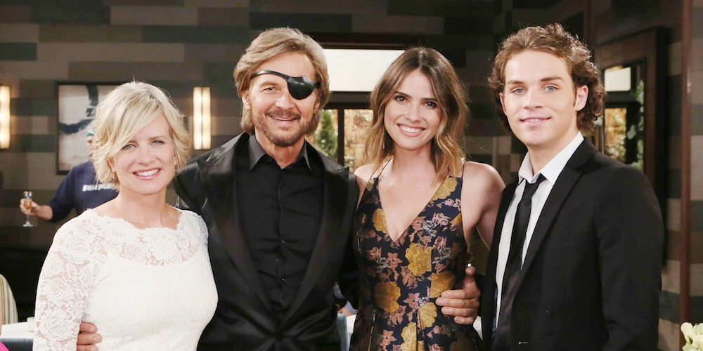 Steve and Kayla from Days of Our Lives with their children., movies/tv, pop culture, wdc-slideshow