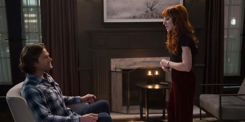 Sam and Rowena from Supernatural., movies/tv, pop culture, wdc-slideshow