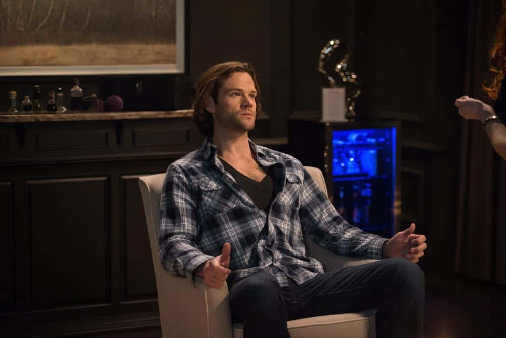 Sam from Supernatural sitting in a chair., movies/tv, pop culture, wdc-slideshow