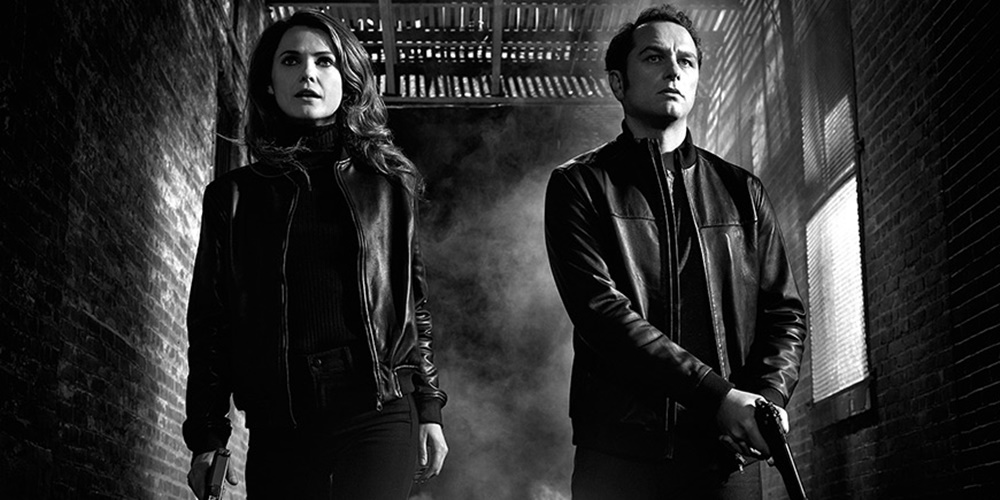 Elizabeth and Phillip from The Americans walking through an alley., movies/tv, pop culture, wdc-slideshow