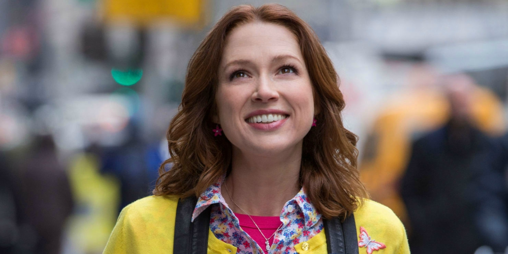 Kimmy Schmidt seeing New York for the first time on the first episode of Netflix's Unbreakable Kimmy Schmidt, movies/tv