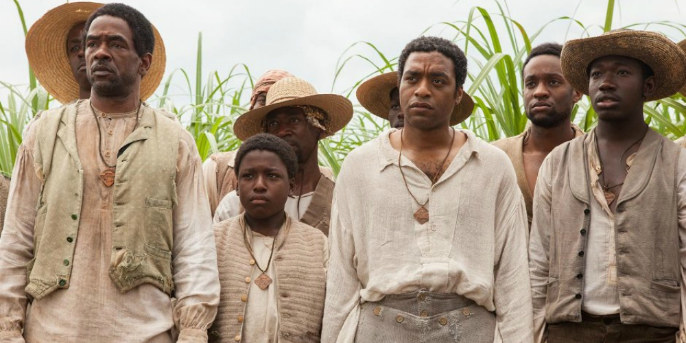 Chiwetel Ejiofor as a slave in the Oscar-winning picture 12 Years a Slave, movies/tv