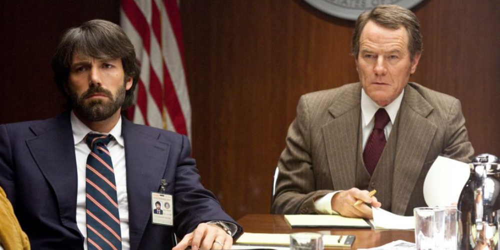 Ben Affleck and Brian Cranston in the 2012 Oscar-winning picture Argo, movies/tv