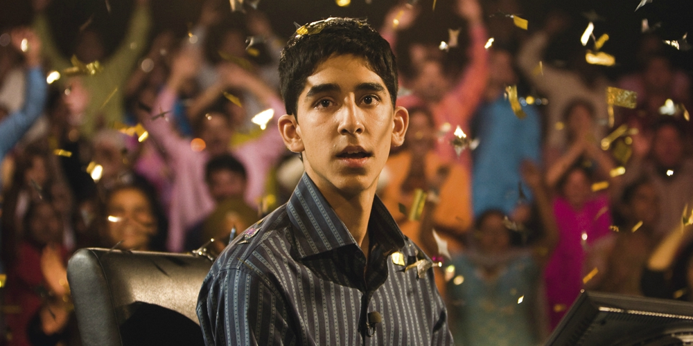Dev Patel in the Oscar-winning movie Slumdog Millionaire, movies/tv