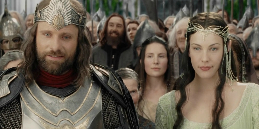 Viggo Mortensen and Liv Tyler in The Lord of the Rings: The Return of the King, movies/tv