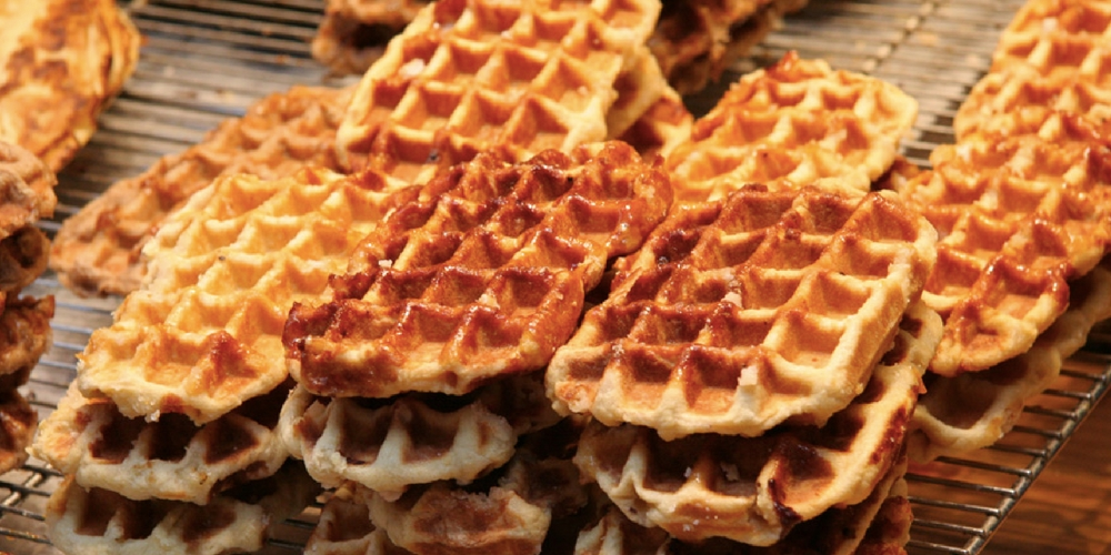 belgian waffles, food, foreign foods