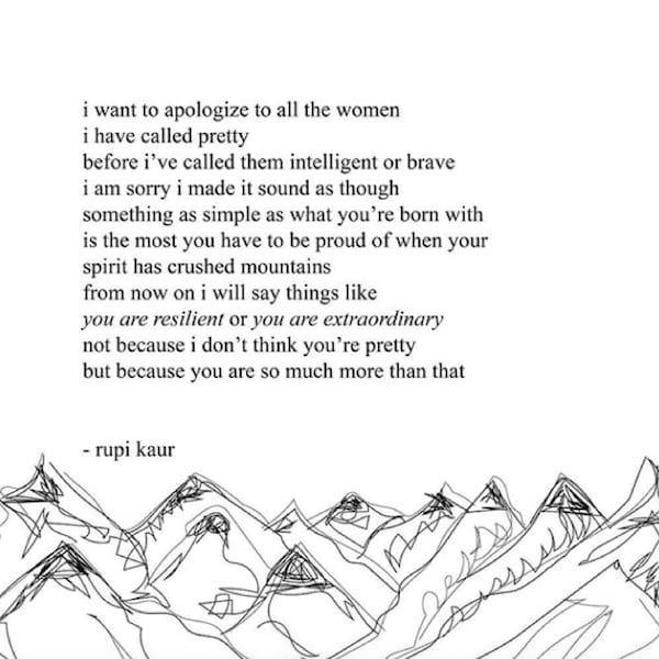 The 10 Best Poetry Instagrams You Should Be Following, rupi kaur, poetry, poem