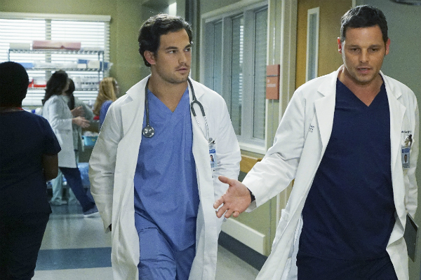 greys antomy season 14 episode 21, greys anatomy, alex karev, Andrew DeLuca