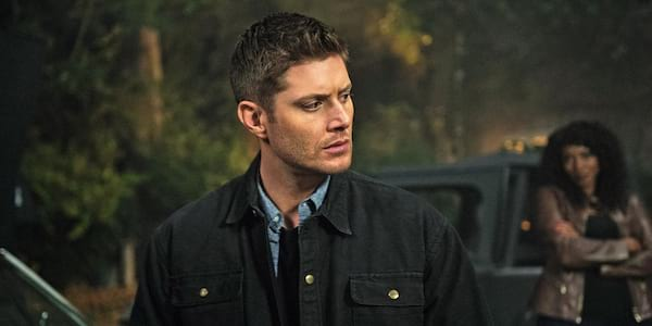 Dean from Supernatural with Billie in the background looking at him., movies/tv, pop culture, wdc-slideshow