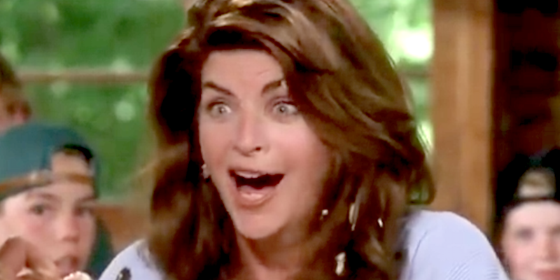 kirstie alley, food fight