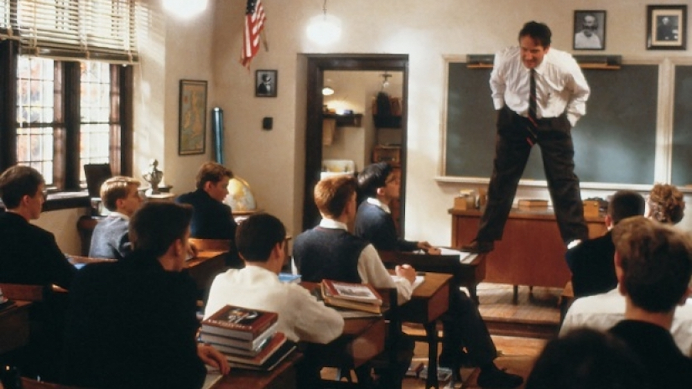movies/tv, Dead poets society