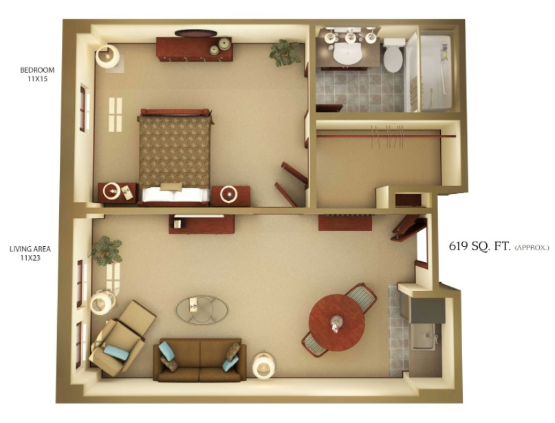mother in law suite ideas