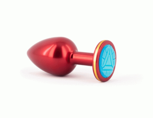 Iron Man's Arc Rector-inspired butt plug from Geeky Sex Toys, sex
