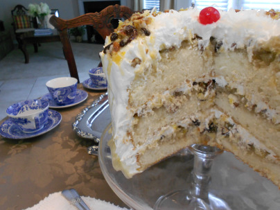 Lane Cake-Alabama-Southern-Food-042518, food & drinks
