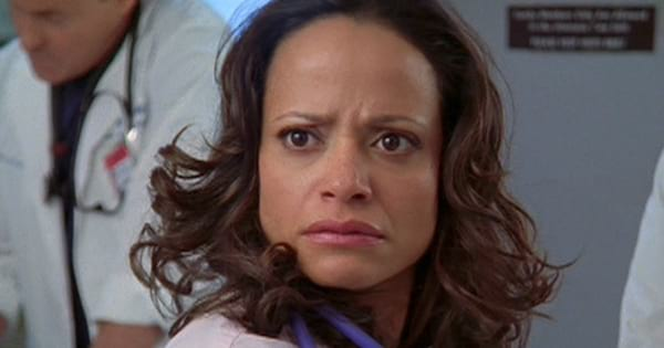 Judy Reyes as Carla Espinosa in the NBC series Scrubs, movies/tv