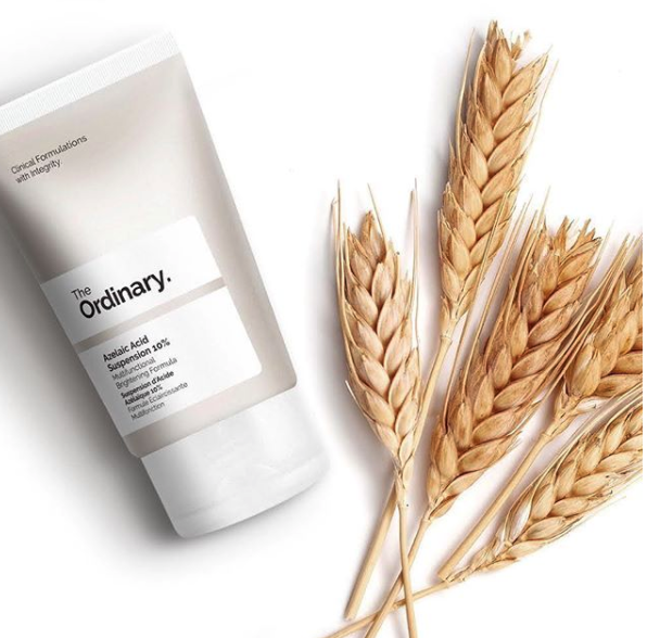 The Ordinary Regimen For Aging, serum bottles, face wash in bottles, clean transparent oils and lotions