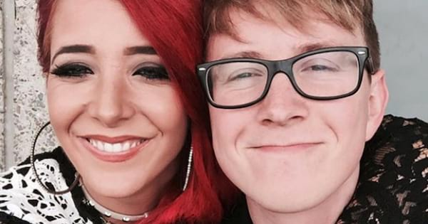 YouTubers Jenna Marbles and Tyler Oakley smiling in a selfie together, celebs