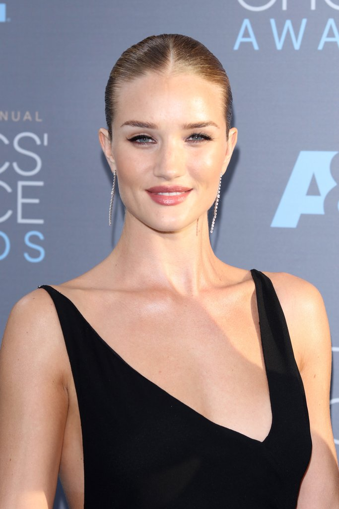 Rosie Huntington then and now