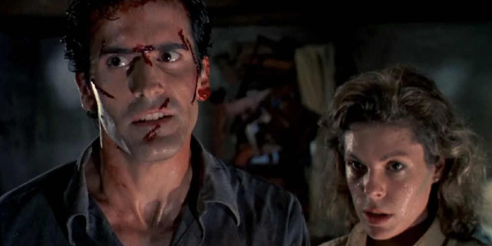 the evil dead, Scary movies, horror