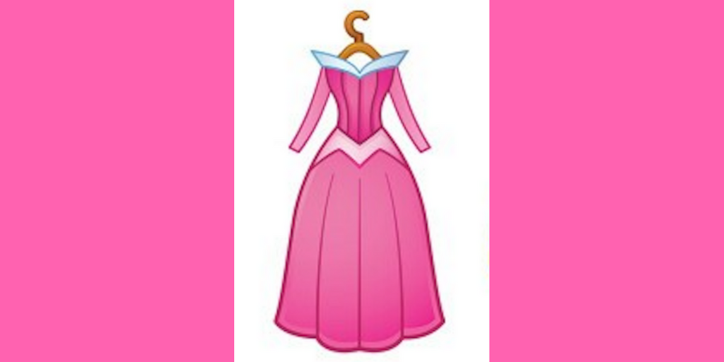Disney, aurora's dress