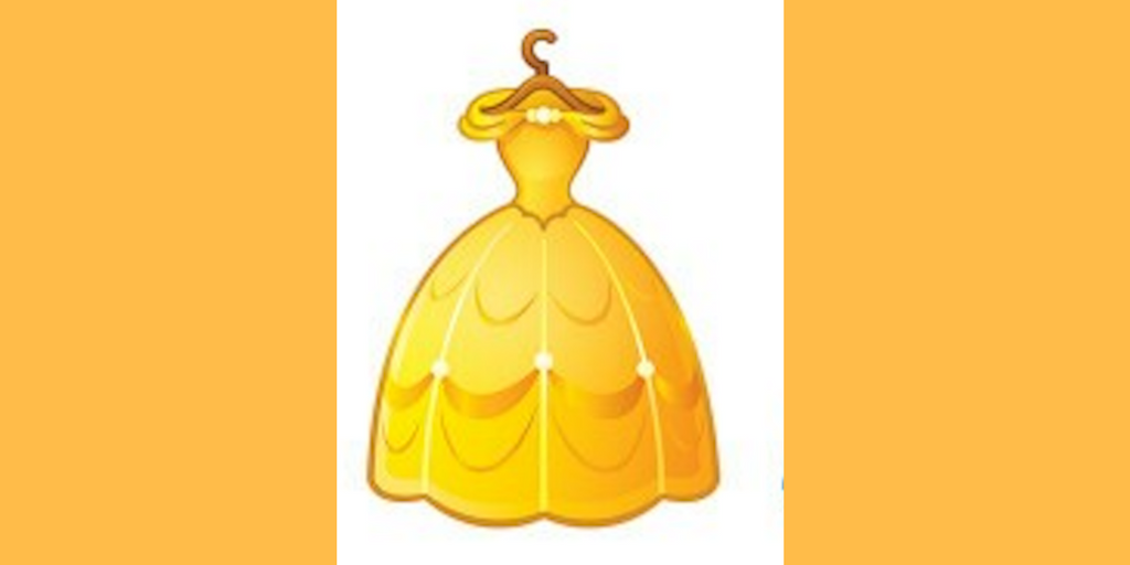 Disney, belle's dress