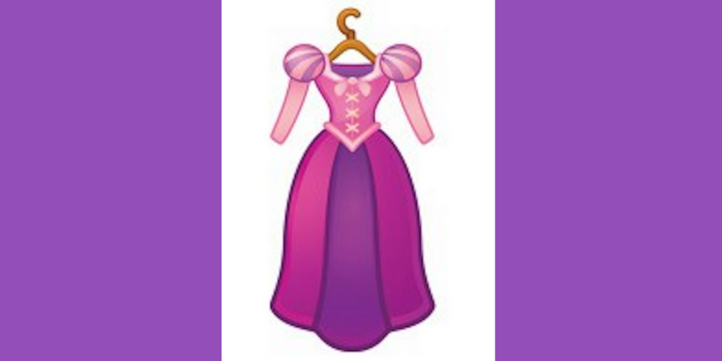 Disney, rapunzel's dress