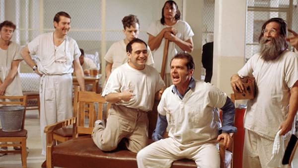 movies/tv, One Flew Over the Cuckoo's Nest, Jack Nicholson